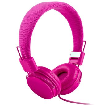High Quality Fashion Headset Dj Headphone For Girls Kids With Mic -Red - intl Price Philippines