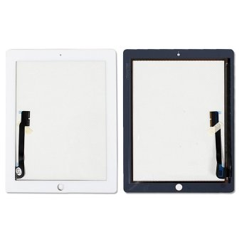 High Quality Touch Screen Front Glass Digitizer Replacement For Apple iPad 3 4 with Repair Tools White + Free Shipment
