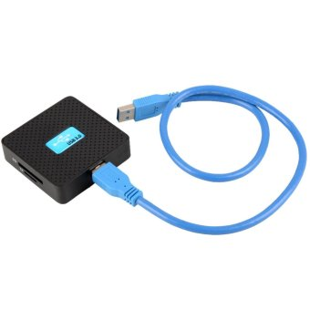 High Speed USB 3.0 All in 1 SD TF CF XD M2 MS Flash Memory Card Reader Adapter - 2