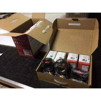 Hikvision 1MP Combo Kit 4 Channel CCTV Package with 1 TB Hard Disk - 5