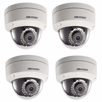 Hikvision DS-2CD1121-I 2MP IR Dome CCTV Camera SET OF 4