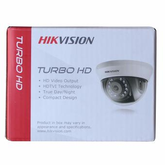 HIKVISION DS-2CE56C0T-IRMM (2.8mm) HD720P/1MP Dome Camera UP to 20m IR True Day/Night - 2