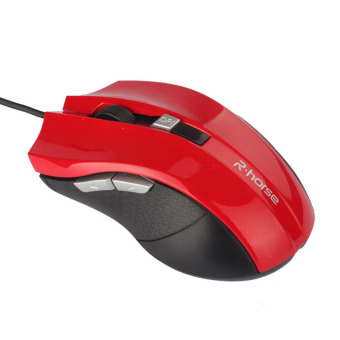 HKS 2500 DPI LED Optical Wired Gaming Mouse (Red) (Intl)