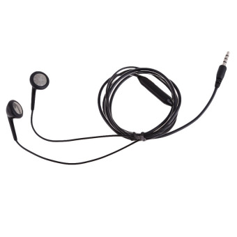 HKS Bass Sound In-Ear Headphone Secure Fit for Mp3 Mp4 Player iPod (Black) (Intl)