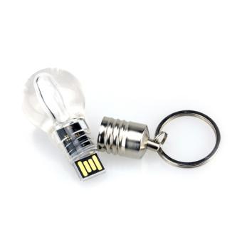 HKS Bulb 64GB USB Flash Drive Memory Stick Pendrive (White) (Intl)