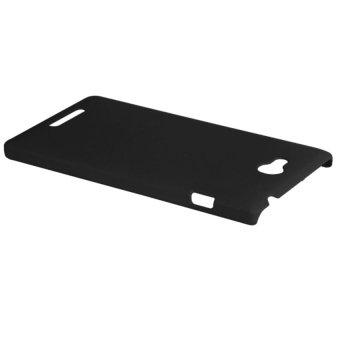 HKS Hard Plastic Back Case Cover for Sony Xperia C S39h/C2305 (Black) - intl - 3