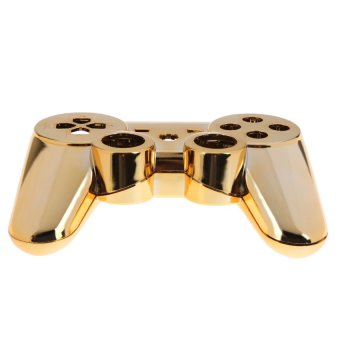 HKS New Wireless Controller Full Housing Shell Case for Sony PS 3 PS3 Golden (Intl)