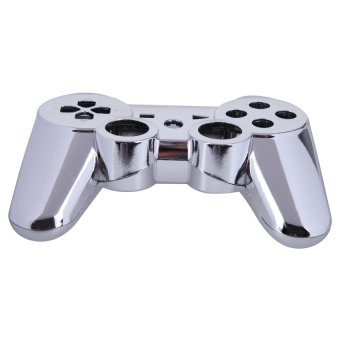HKS New Wireless Controller Full Housing Shell Case for Sony PS 3 PS3 Silvery (Intl)