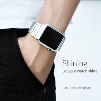 HOCO 42MM Protective Case for Apple iWatch2 Colorful Hard PlasticCover for Smart Watch Shell Protection Bumper - intl - 4