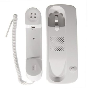 Home/Office Wired Intercom Telephone System with Wall Mount(2-Pack)