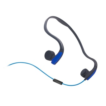 Hot Bone Guided Headphones Adjustable Bone Guided HeadphonesFashion Stereo Bone Conduction Bluetooth Headset (Blue) - intl Price Philippines