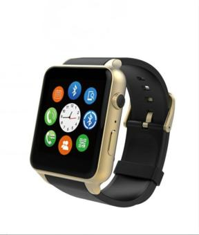 Hot Sales GT88 Bluetooth Waterproof Smart Watch Heart Rate MonitorSmartwatch Support TF/SIM Card for IOS Android System Smart Phone -Gold - intl