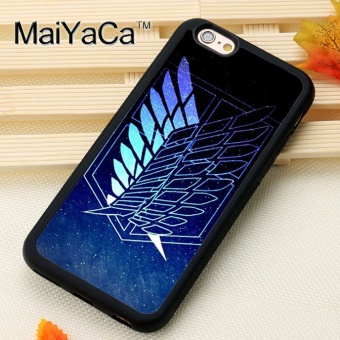 Hot Style Fashion For Apple iPhone 6/6S Case 4.7 Inch Custom Attackon Titan Wings Of Liberty Printed - intl Price Philippines