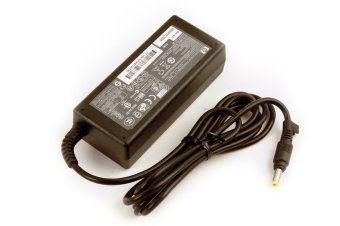 HP 18.5V/3.5A Original Laptop AC Adapter with FREE Asus Mouse