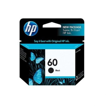 HP 60-CC640W Ink (Black)