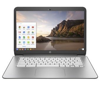"""HP Chromebook 14-X008 14"""" Quadcore Nvidia Tegra 2GB Smoke Silver Chrome OS"""