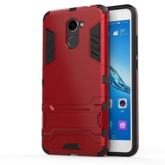 Huawei 7 plus/7 plus TPU two one support drop-resistant sets phone case