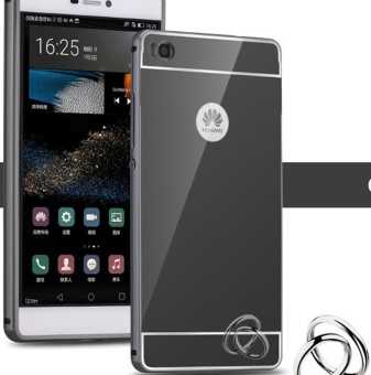 Huawei P7 Luxury Mirror Design Metal Aluminum Frame + Acrylic BackCase-intl - 2