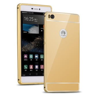 Huawei P7 Luxury Mirror Design Metal Aluminum Frame + Acrylic BackCase-intl - 5