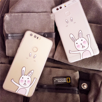 Huawei P9/mate8 big rabbit matte whole package protective case shell