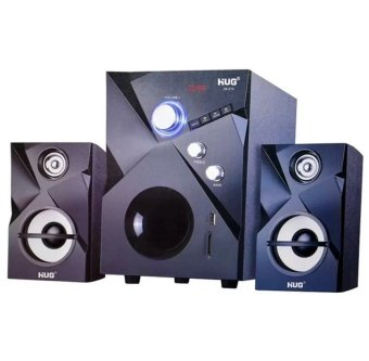 Hug 28-215 2.1 Multimedia Subwoofer Speaker System (Black)