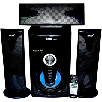 Hug 3.1-Channel Multimedia Speaker with Remote Control H302 (Black)