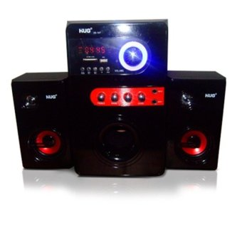 Hug H28-107 MP3 Player with 2.1 FM Radio Sound Systems (Black)