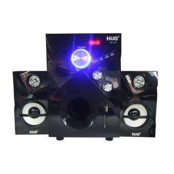HUG H28-215 Subwoofer Speaker w/ USB slot & built-in FM Radio - 2