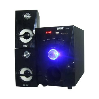 HUG H28-216 Subwoofer Speaker w/ USB slot & built-in FM Radio - 2