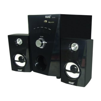 HUG H28-216 Subwoofer Speaker w/ USB slot & built-in FM Radio - 4