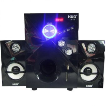 Hug Music-215 3D Surround Sound Speaker (Black)