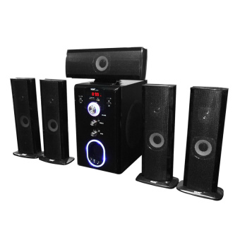 Hug Music Heaven H28-601 Home Theater Speakers (Black) Price Philippines