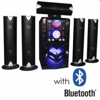 Hug Music Heaven H28-851 5.1 With Bluetooth Channel Home TheaterSystem (Black) Price Philippines