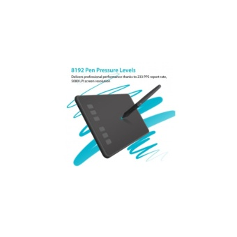Huion H640P Pen Tablet with Battery-Free Pen (New!)