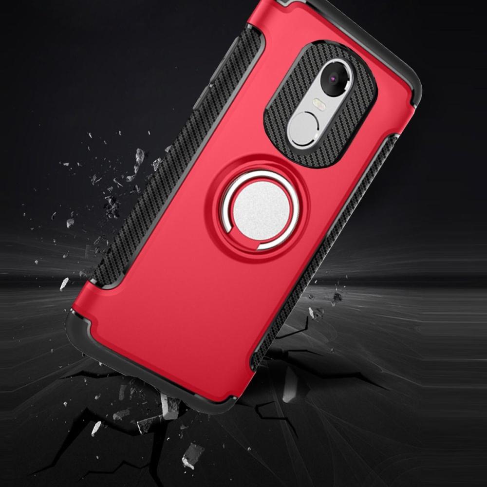 ... Hybrid Armor Case For Xiaomi Redmi Note 4X Anti-slip Carbon FiberTPU + PC Back ...