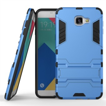 Hybrid Combo Rugged Case for Samsung Galaxy A9 Pro (2016) (Blue)
