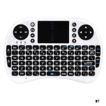 i8+ 2.4G Mini Wireless Keyboard Mouse Touchpad for PC Smart TVAndroid Box - intl