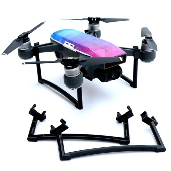 iBelieve Quick Disassembly Elevation Stand Intelligent Aircraft Landing Gear For DJI SPARK Drone-Black - intl
