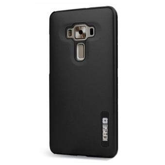 """iCase Dual Pro Shockproof Case for ASUS Zenfone 3 (5.5"""") ZE552KL(Black) - 2"""