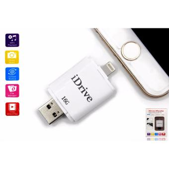 iDrive 16GB iReader OTG USB Flashdrive External Storage for AppleiOs