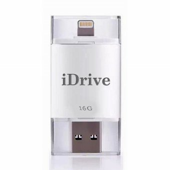 iDrive External Storage 16GB USB Flash Drive For iPod Touch 5 / 6 (White)