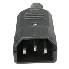 IEC 320 C14 Rewirable Cable Connector C14 Male Plug 3 Pin Power Adapter 10A 250VPHP348. PHP 348