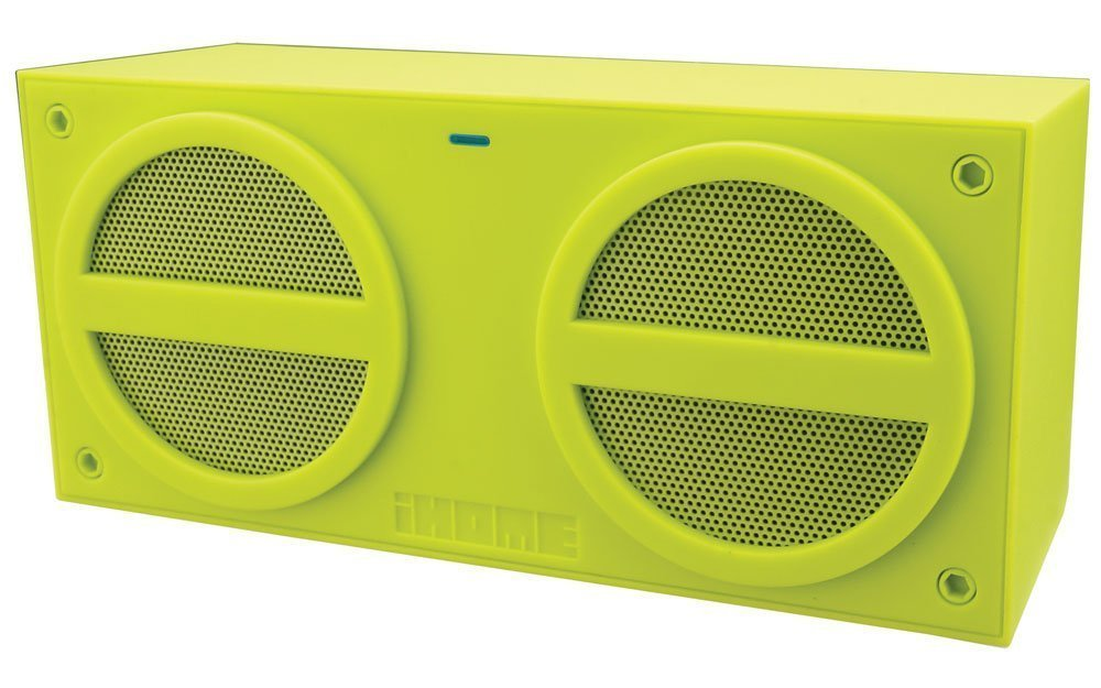 iHome iBT24 Bluetooth Rechargeable Stereo Mini Speaker (Green) product preview, discount at cheapest price