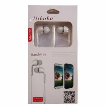Alibaba Ali-538 Headset with Built Microphone (White) Price Philippines
