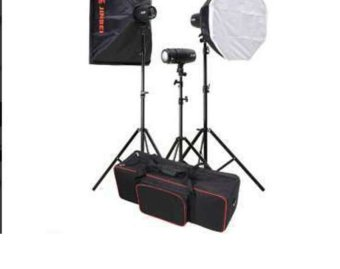 Harga Caler E-200 Lighting Studio Equipment Kit