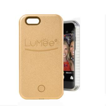 Harga LED Lumee Selfie Case For Apple iPhone 5 (Gold)