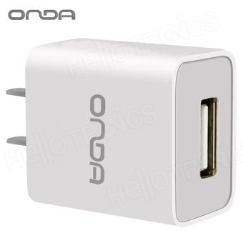 Onda 1A USB Slot Charger Adapter 1.0mAh Quick Speed Charging (White) Price Philippines