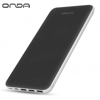 ONDA N200T 20000 mAh Fast-Charger 3.0 Portable Battery Power Bank (Dark Gray) Price Philippines