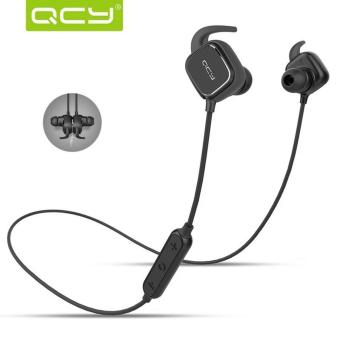 QCY QY-12 Wireless Sports Bluetooth Headsets With Magnetic Switch (Black) Price Philippines