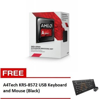 AMD A8-7600 Processor with Free A4Tech KRS-8572 USB Keyboard and Mouse (Black) Price Philippines